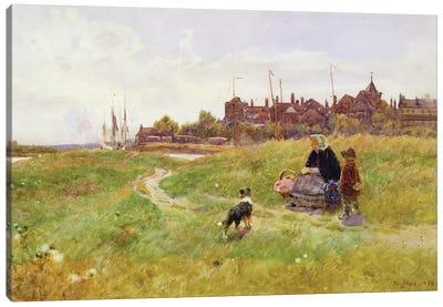Hastings, 1894  Canvas Art Print