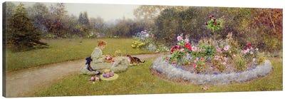 The Rose Garden, 1903  Canvas Art Print