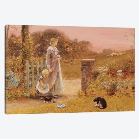 Evening, 1895  Canvas Print #BMN3769} by Thomas James Lloyd Canvas Artwork