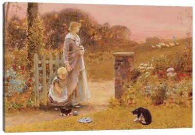 Evening, 1895  Canvas Art Print