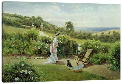 In the Garden, 1903 Canvas Art Print