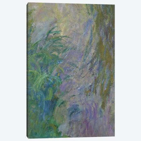 Waterlilies   Canvas Print #BMN3774} by Claude Monet Canvas Wall Art