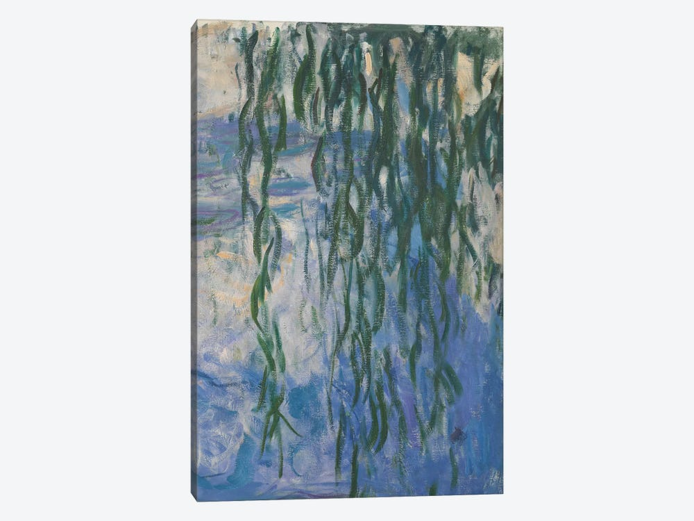 Waterlilies, 1916-19   by Claude Monet 1-piece Canvas Art