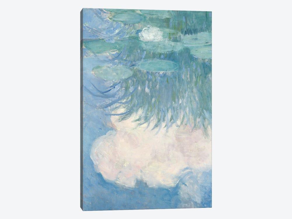 Waterlilies, detail, 1914-17   by Claude Monet 1-piece Canvas Print