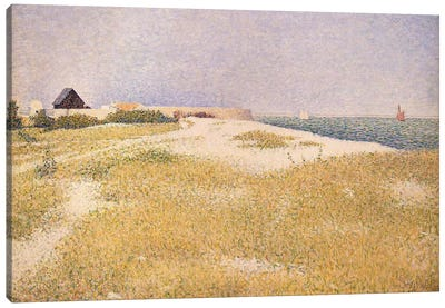 View of Fort Samson, 1885  Canvas Art Print