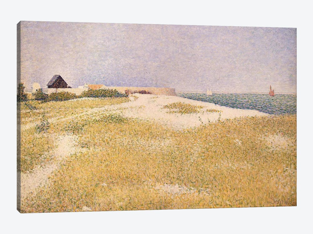 View of Fort Samson, 1885  by Georges Seurat 1-piece Canvas Print