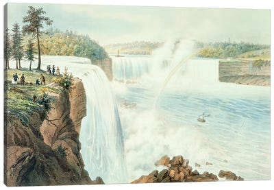 Niagra Falls  Canvas Art Print