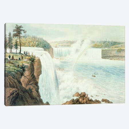 Niagra Falls  Canvas Print #BMN3804} by Augustus Kollner Canvas Art