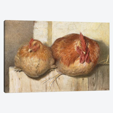 Forty Winks, 1865  Canvas Print #BMN3808} by J.G. Marks Canvas Print