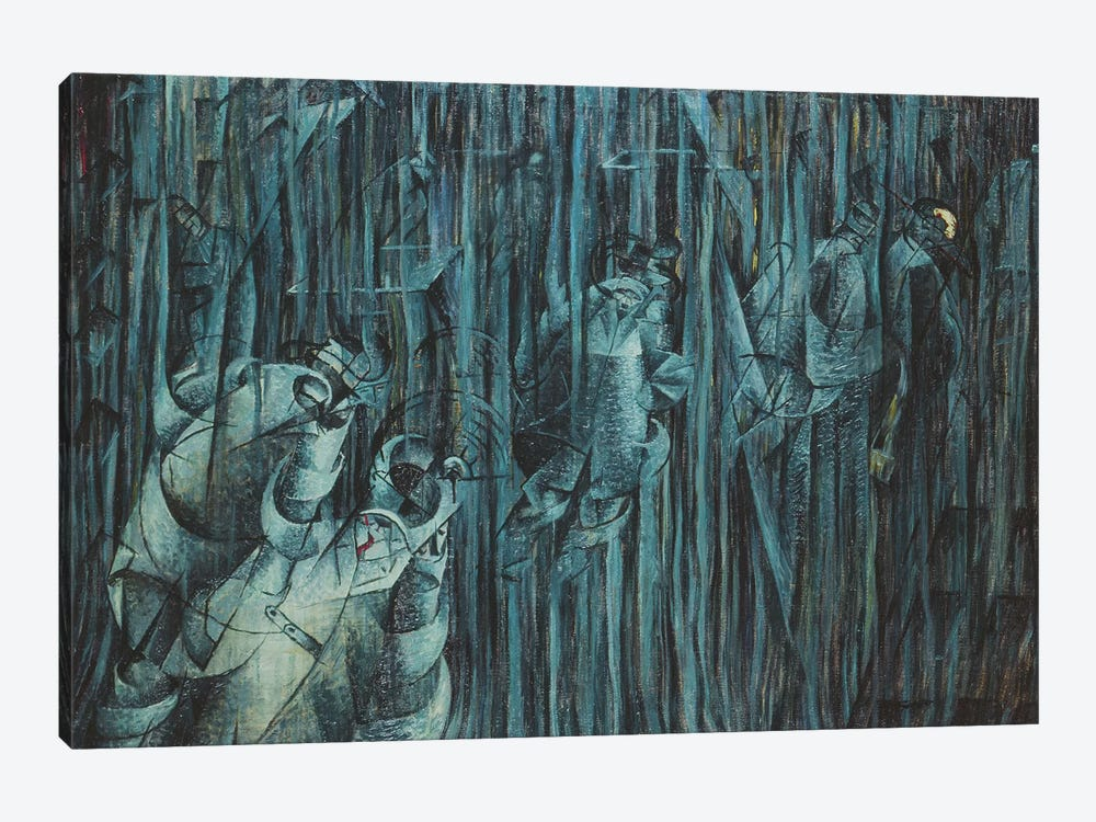 States of Mind: Those Who Stay, 1911  by Umberto Boccioni 1-piece Art Print