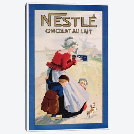 Advertisement for Nestle Chocolat au Lait, c.1920  Canvas Print #BMN3819} by Unknown Artist Canvas Art