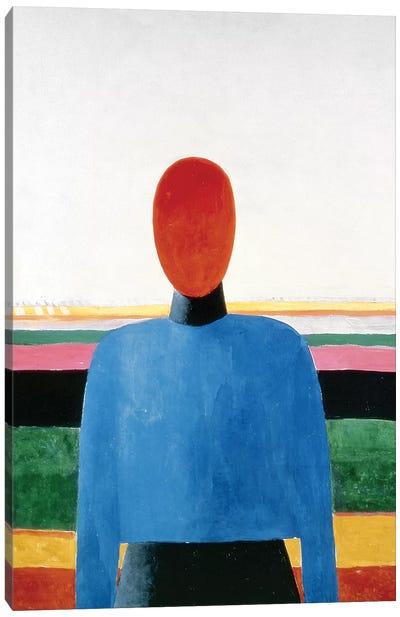 Bust of Woman  Canvas Art Print