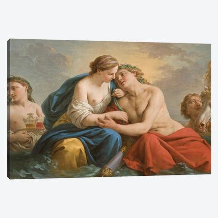 Sunset, 1772  Canvas Print #BMN3833} by Louis Jean Francois I Lagrenee Canvas Artwork