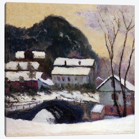 Sandviken, Norway, 1895  Canvas Print #BMN3839} by Claude Monet Canvas Artwork