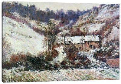 Snow near Falaise, Normandy, c.1885-86  Canvas Art Print
