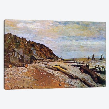 Boatyard near Honfleur, 1864  Canvas Print #BMN3844} by Claude Monet Canvas Wall Art