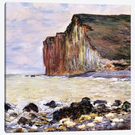 Les Petites Dalles, Pourville, 1881  Canvas Print #BMN3845} by Claude Monet Canvas Art