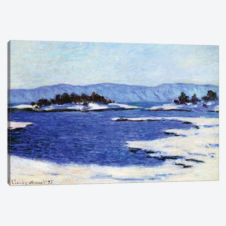 Fjord at Christiania, Norway, 1895  Canvas Print #BMN3848} by Claude Monet Art Print