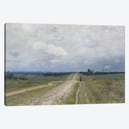 The Vladimirka Road, 1892  Canvas Print #BMN3858} by Isaak Ilyich Levitan Canvas Wall Art