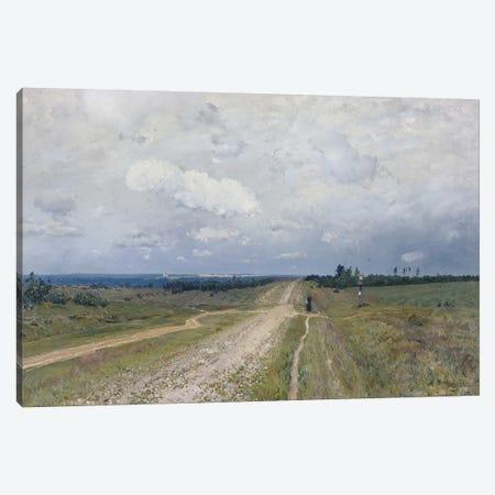 The Vladimirka Road, 1892  Canvas Print #BMN3858} by Isaak Ilyich Levitan Canvas Wall Art