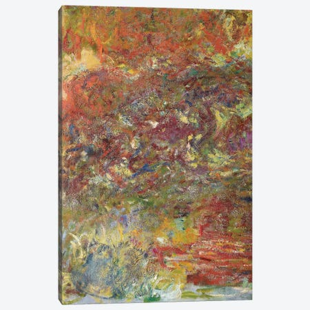 The Japanese Bridge, 1918-24  Canvas Print #BMN3862} by Claude Monet Art Print