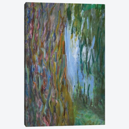 Weeping Willow and the Waterlily Pond, 1916-19  Canvas Print #BMN3863} by Claude Monet Art Print