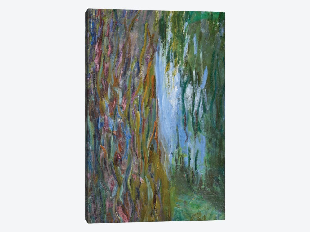 Weeping Willow and the Waterlily Pond, 1916-19  by Claude Monet 1-piece Canvas Print