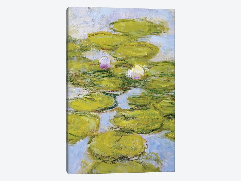 Nympheas, 1916-19  by Claude Monet 1-piece Canvas Print