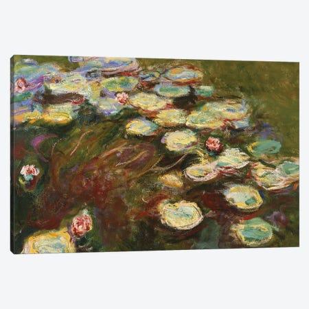 Waterlilies, 1914-17  Canvas Print #BMN3868} by Claude Monet Canvas Print