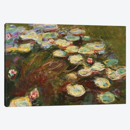 Waterlilies, 1914-17  Canvas Print #BMN3868} by Claude Monet Canvas Print