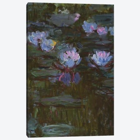 Waterlilies, 1914-17  Canvas Print #BMN3869} by Claude Monet Art Print
