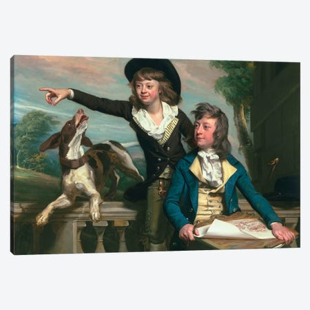 The Western Brothers, 1783  Canvas Print #BMN3873} by John Singleton Copley Canvas Art