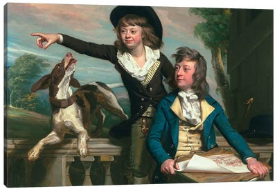 The Western Brothers, 1783  Canvas Art Print
