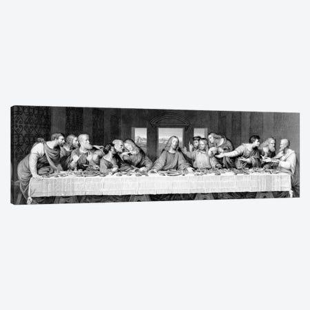 The Last Supper, engraved by Frederick Bacon, 1863  Canvas Print #BMN3876} by Leonardo da Vinci Canvas Print