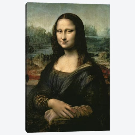 Mona Lisa, c.1503-6  Canvas Print #BMN3879} by Leonardo da Vinci Canvas Artwork
