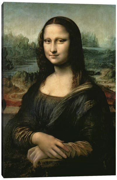 Mona Lisa, c.1503-6  Canvas Art Print