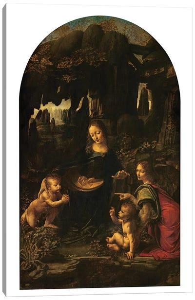 Madonna of the Rocks, c.1478  Canvas Art Print