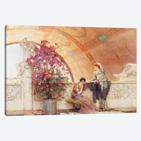 Unconscious Rivals, 1893  Canvas Print #BMN388} by Sir Lawrence Alma-Tadema Art Print