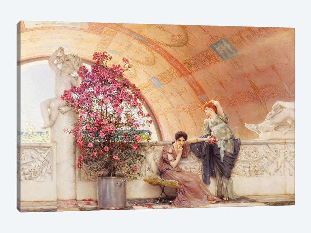 Unconscious Rivals, 1893  by Sir Lawrence Alma-Tadema 1-piece Art Print