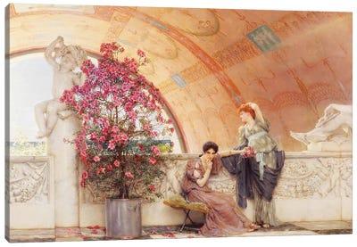 Unconscious Rivals, 1893  Canvas Art Print