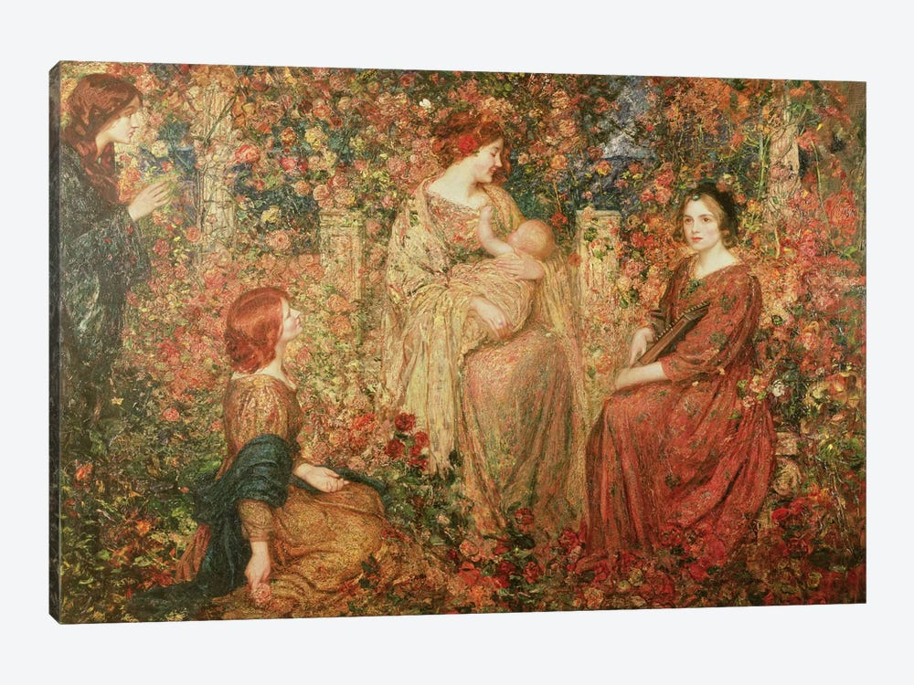The Child by Thomas Edwin Mostyn 1-piece Canvas Artwork