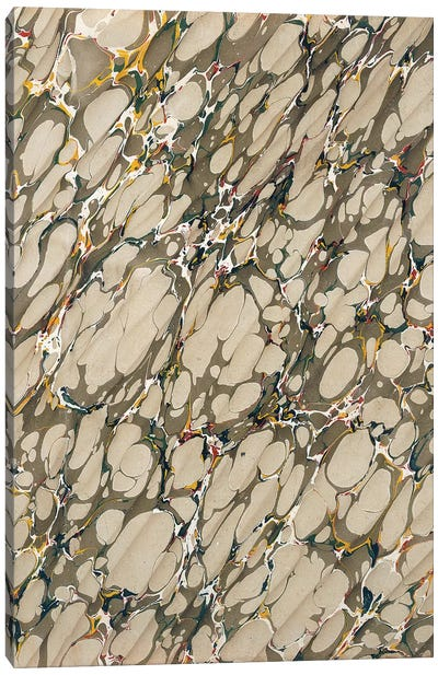 Marble Endpaper  Canvas Art Print