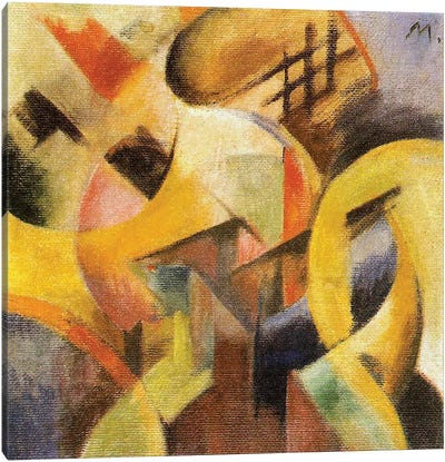 Small Composition I, 1913  Canvas Art Print