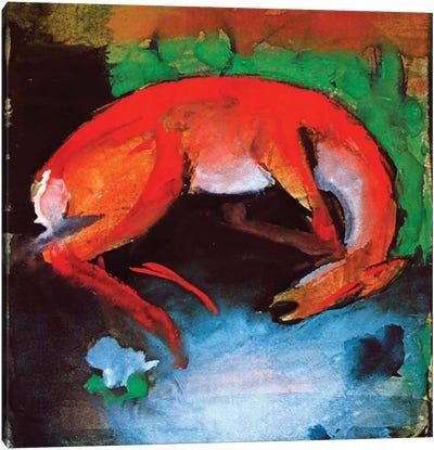 Dead Deer, 1913  Canvas Art Print