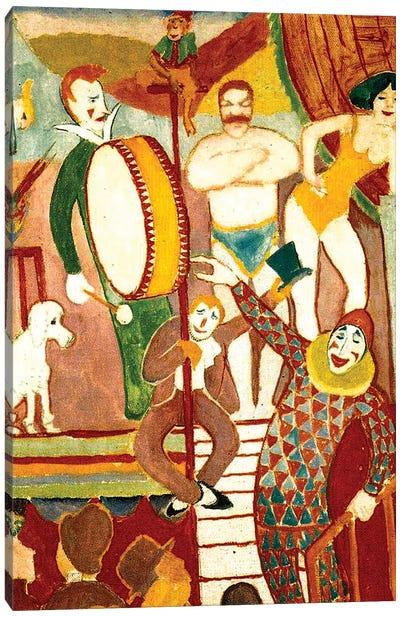Circus Artists, 1911  Canvas Art Print