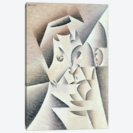 Mother of the Artist, 1912  Canvas Print #BMN3937} by Juan Gris Canvas Artwork