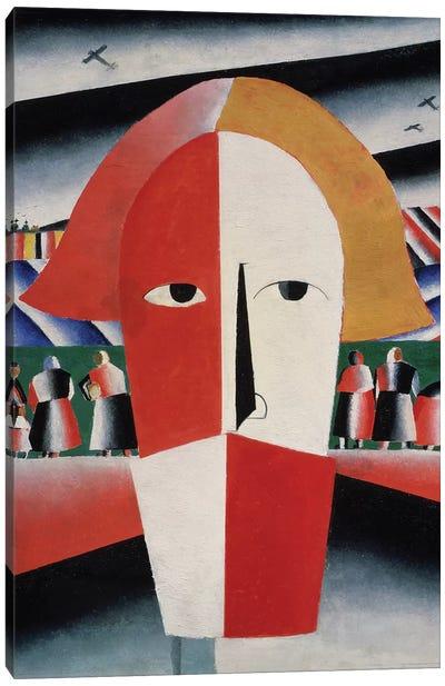 Head of a Peasant, c.1930  Canvas Art Print