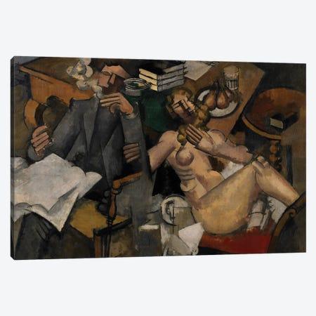 Married Life, 1912  Canvas Print #BMN3955} by Roger de la Fresnaye Canvas Art