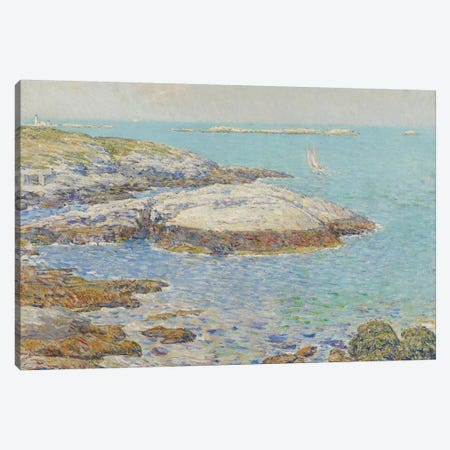 Isles of Shoals, 1899  Canvas Print #BMN3961} by Childe Hassam Canvas Artwork