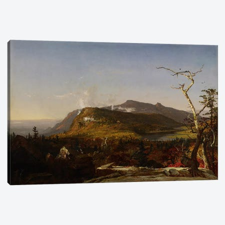Catskill Mountain House, 1855  Canvas Print #BMN3963} by Jasper Francis Cropsey Canvas Art